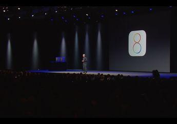 Apple Resmi Memperkenalkan iOS 8; Health app, iCloud Drive dan Lainnya