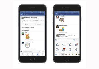 Facebook Hadirkan Fitur Komentar dengan Stickers