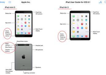 Apple Tidak Sengaja Bocorkan Detil Tentang iPad Air 2 dan iPad Mini 3 di iBooks