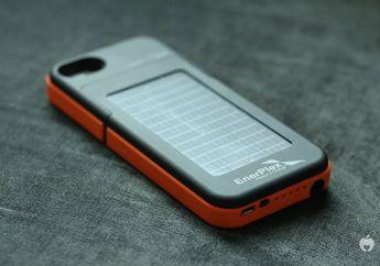 EnerPlex Surfr, Battery Case iPhone 5 Berteknologi Solar Panel