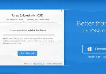 Jailbreak Pangu iOS 8 Kini Mendukung Bahasa Inggris & iPad Air 2