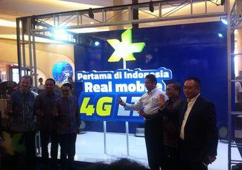 XL Axiata Resmi Komersialkan Layanan 4G LTE di 3 Kota Besar Indonesia