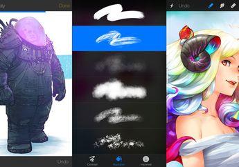 Aplikasi Sketsa Procreate Hadir Untuk Perangkat iPhone