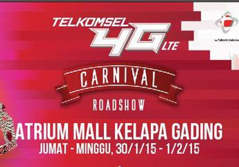 Telkomsel Menggelar 4G LTE Carnival di Mall Kelapa Gading (Tukar USIM Eksklusif Pembaca MakeMac)