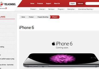 Akhirnya Telkomsel Memberikan Info iPhone 6 di Indonesia