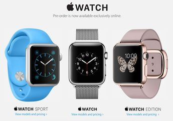 Apple Online Store Mulai Sesi Pemesanan Apple Watch & MacBook 12 Inci