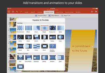 Microsoft Merilis Pembaruan Fitur Template di Word, PowerPoint & Excel for iOS