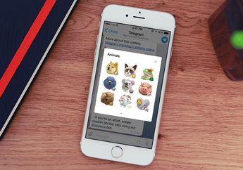Lama Ditunggu, Telegram Messenger Akhirnya Mendukung Sticker Set