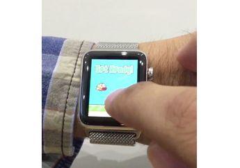 Pengembang Ini Berhasil Instal Tiruan Flappy Bird di Apple Watch