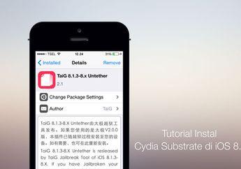 [Jailbreak] Tutorial Instal Cydia Substrate di iOS 8.3
