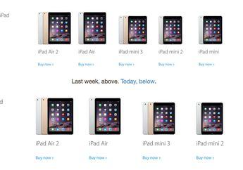 Apple Berhenti Jual iPad Mini Generasi Pertama