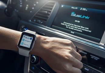 Canggih! Menyalakan Mobil Hyundai Sonata Kini Bisa Lewat Apple Watch