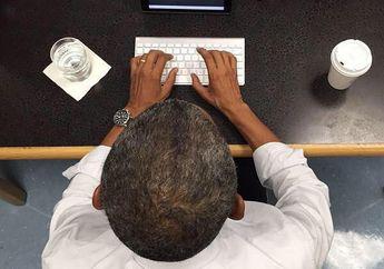 Presiden AS Pilih iPad Air buat Tanya Jawab Soal Kesehatan di Twitter