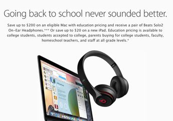 "Program ""Back to School 2015"" Kini Hadir di Apple Online Store"