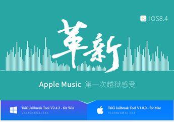 TaiG Merilis Tools Jailbreak iOS 8.4 Bagi Pengguna OS X