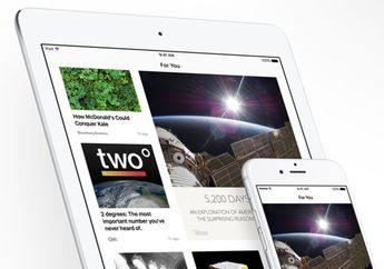 Jumlah Pengguna Layanan Apple News Capai 40 Juta Orang