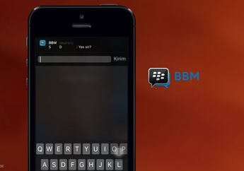 BBM for iOS Resmi Mendukung Quick Reply iOS 9 & Apple Watch