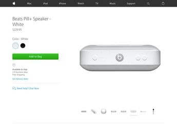 Apple Online Store Resmi Buka Pre-Order Speaker Nirkabel Beats Pill+