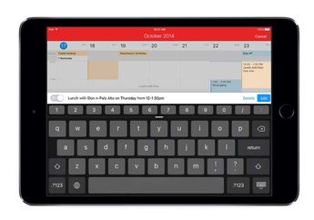 Fantastical 2.5 Mendukung 3DTouch iPhone 6s & Multitasking iPad iOS 9