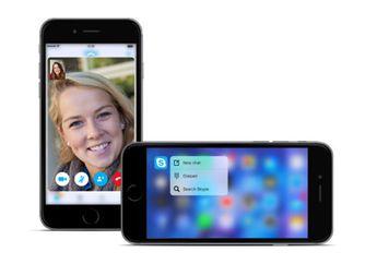Update Skype 6.5: 3D Touch, Hapus Pesan & Tema Halloween
