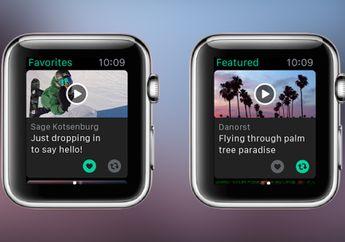 Lama Ditunggu, Akhirnya Vine Mendukung Apple Watch