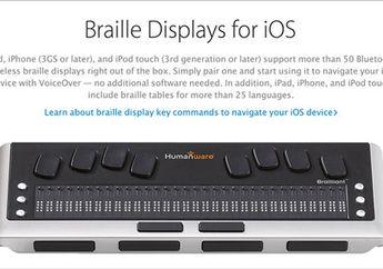 Apple Store Siap Jual Aksesoris bagi Penyandang Disabilitas Awal 2016