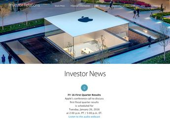 Apple Siap Umumkan Laporan Keuangan Kuartal 1 2016 Akhir Januari
