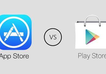 App Store Ungguli Pendapatan Daripada Google Play Store di 2015