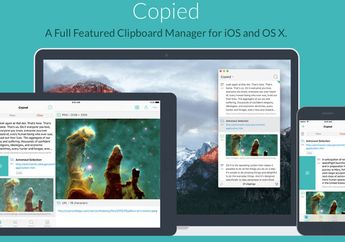 Copied, Clipboard Manager Cantik & Integrasi iCloud di Mac & iOS