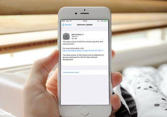 Update iOS 9.3 Beta 2 Lengkapi Night Shift di Control Center