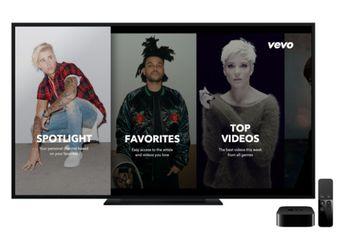 Layanan Streaming Musik Video dari Vevo Resmi Hadir di Apple TV