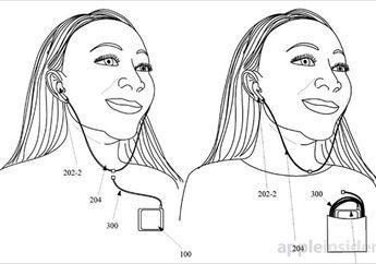 Apple Raih Hak Paten Teknologi Untuk Desain EarPods Hibrida