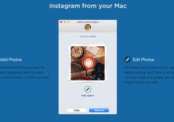 Unggah Foto Massal ke Instagram dengan Uplet for Mac