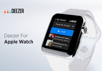 Layanan Streaming Musik Deezer Hadir di Apple Watch