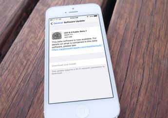 Apple Merilis iOS 9.3 Beta 7 untuk Developer dan Public Beta