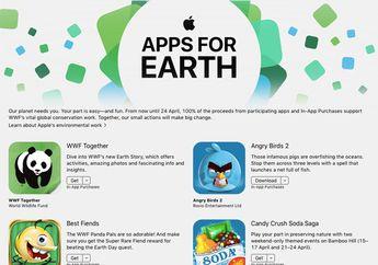 Apple Merilis 'App for Earth' untuk Galang Donasi ke WWF