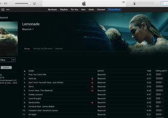 Album Beyonce 'Lemonade' Akhirnya Tersedia di iTunes Store, Tidak di Apple Music