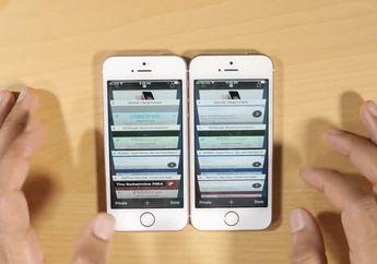 (Video) Bukti RAM 2GB Bikin Performa iPhone SE Lebih Efisien dari iPhone 5s