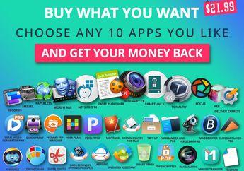 BundleHunt Spring Mac Bundle, Pilih 10 App dengan Harga Ekstra Murah!