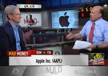 Kata Tim Cook Soal Reaksi Wall Street Terhadap Anjloknya Pendapatan Apple