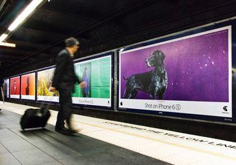 "Apple Pasang Iklan Billboard ""Shot on iPhone"" Baru Bertema Warna"