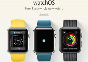 watchOS 3 Resmi Hadir dengan Fitur Scribble, App Breathe, SOS, Wajah Jam Baru