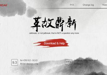Tools Jailbreak iOS 9.3.3 versi English Resmi Dirilis