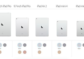 Apple Hapus Storage 16GB di Lini iPad, Tambahkan Opsi 256GB