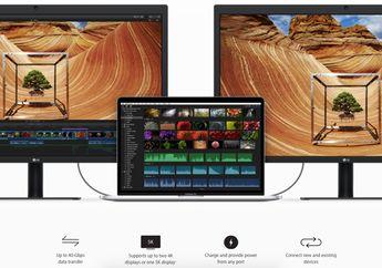 Mengenal Teknologi Thunderbolt 3 di MacBook Pro Baru