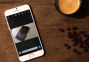 Kirim Foto dan Video di WhatsApp Bisa Dilengkapi dengan Teks, Emoji dan Gambar Garis