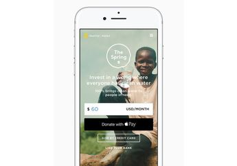Apple Pay Kini Dukung Donasi ke Organisasi Nonprofit