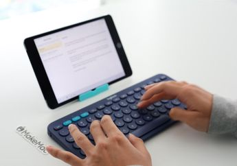 Review Logitech K380, Keyboard Bluetooth Multi Device dan Ringkas