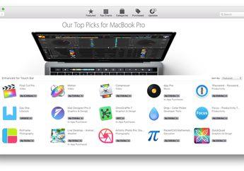 Apple Merilis Katalog Aplikasi yang Mendukung Touch Bar di MacBook Pro