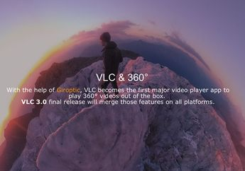 VLC for Mac Mendukung Mode Video 360°